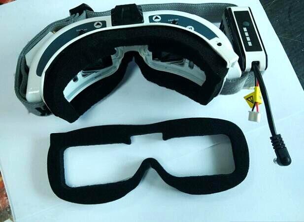 FatShark HD2 / V3 Video Glasses Sponge Block Replacement Parts Foam Nylon 2pcs/set  Improve wearing comfort