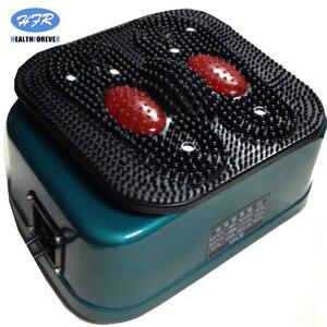 Image 3 - HealthForever מותג שלט רחוק רטט מכשיר רגליים מלא גוף חשמלי רגל זרימת דם עיסוי מכונה