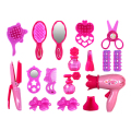 Pretend Play Furniture Toys Children Simulation Beauty Salon Toy Set Kids Girl  Make Up Hair Drier Cosmetic Mirror Girl Toy Set