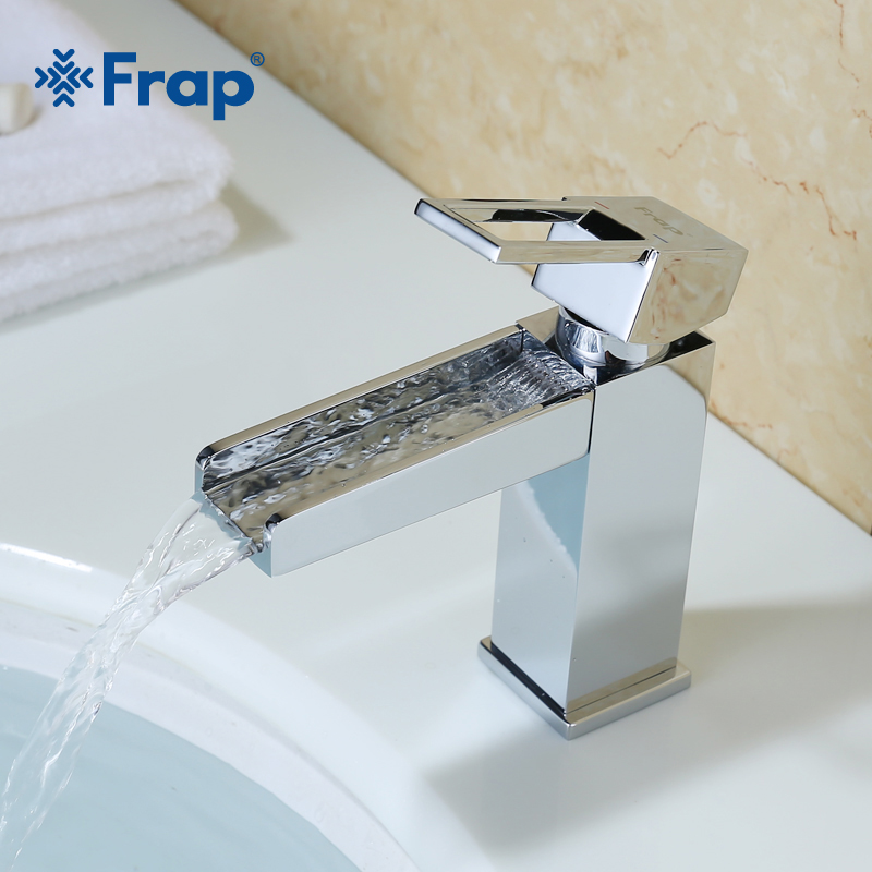 Frap High-quality Brass Single Hole Basin Faucets Hot and Cold Water Mixer Square Design Hollowed-out Handle F1040D pastoralism and agriculture pennar basin india