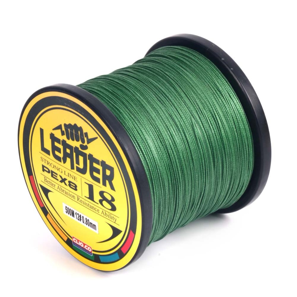 Extreme Strong Fishing Line 8 Strands Weaves 500M Multifilament 100% PE Line Braided Fishing Wires