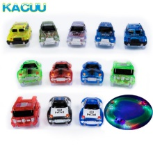 New 12 styles Toy Car For Magical tracks Cool Lights Racing car baby toy Fire truck police cars Gifts Educational toys for kids