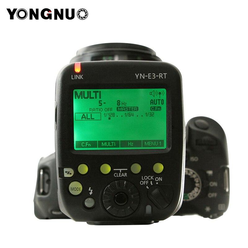 цена на Yongnuo YN-E3-RT TTL Radio Flash Trigger Speedlite Transmitter Controller as ST-E3-RT for Canon 600EX-RT/YONGNUO YN600EX-RT II