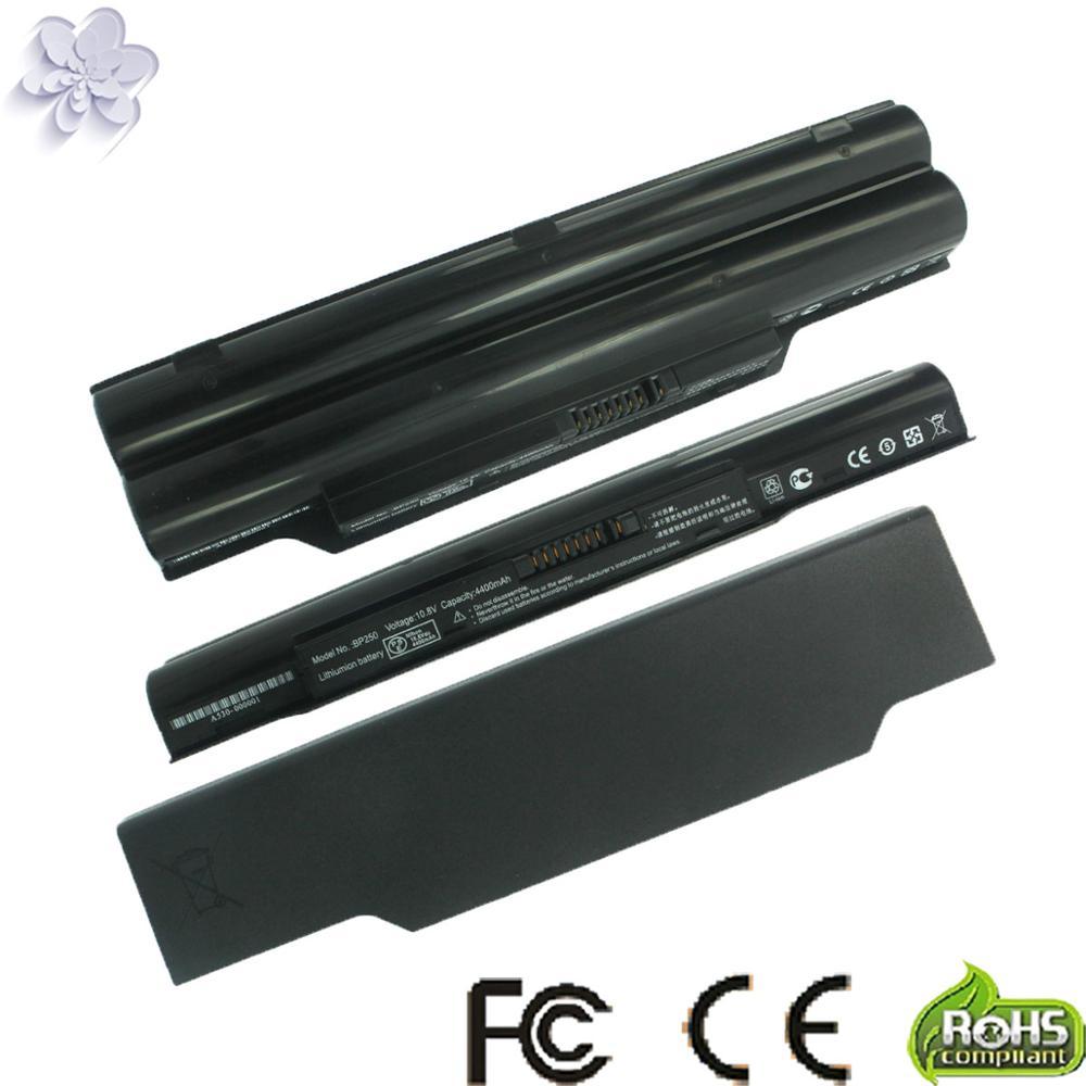 New 6 Cells Laptop Battery For FUJITSU LifeBook A530 A531 AH530 AH531 BH531 LH520 FMVNBP186 FPCBP250 FPCBP250AP