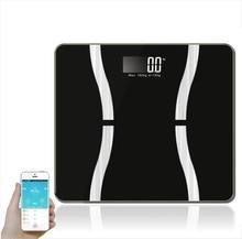 Weight scale Human body fat intelligent Bluetooth body fat Fat scale micro small program body fat scale 3 Y недорого
