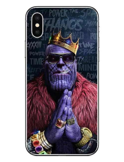 Avengers Infinity War Thanos Phone Case for iPhone SE 5 5S 6S Plus 7 7Plus  8 8 Plus Hard PC Cover Marvel For iPhone X 10