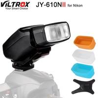 Viltrox JY 610N II TTL LCD Speedlite Camera Flash for Nikon D700 D800 D810A D3100 D3200 D5500 D5600 D7500 D7200 D500 D5 D90 D610