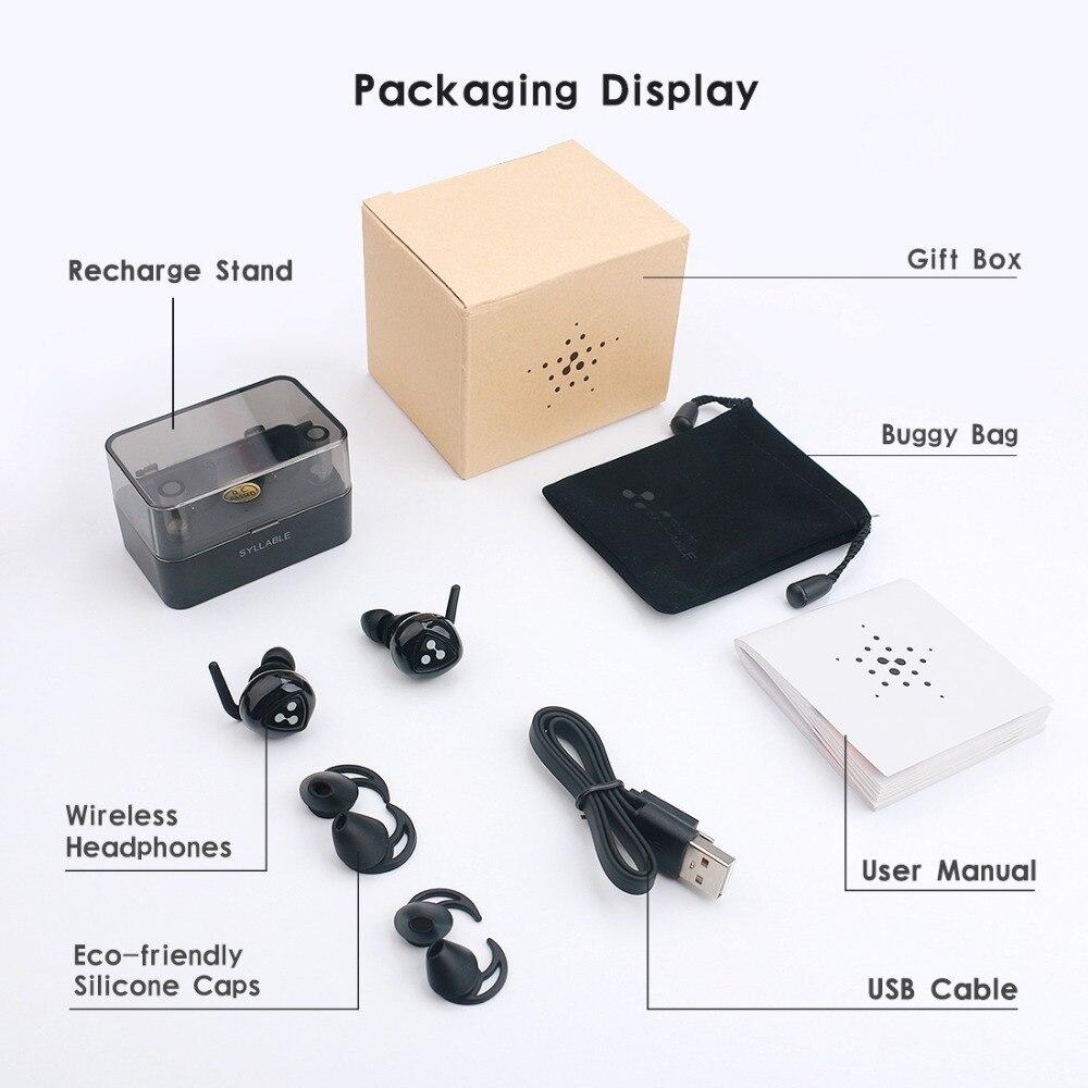 SILBE D900MINI TWS Drahtlose Bluetooth Kopfhörer Echte Stereo Ohrhörer Wasserdichte Headset für Telefon HD Kommunikation mit Mic