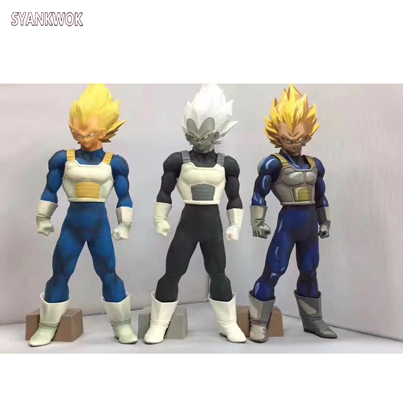 New Arrival Anime Dragon Ball Z Vegeta Figurine Super Saiyan SMSP Manga Vegeta PVC action figure Collectible Model Toys 32cm dragon ball z black vegeta trunks pvc action figure collectible model toy super big size 44cm 40cm