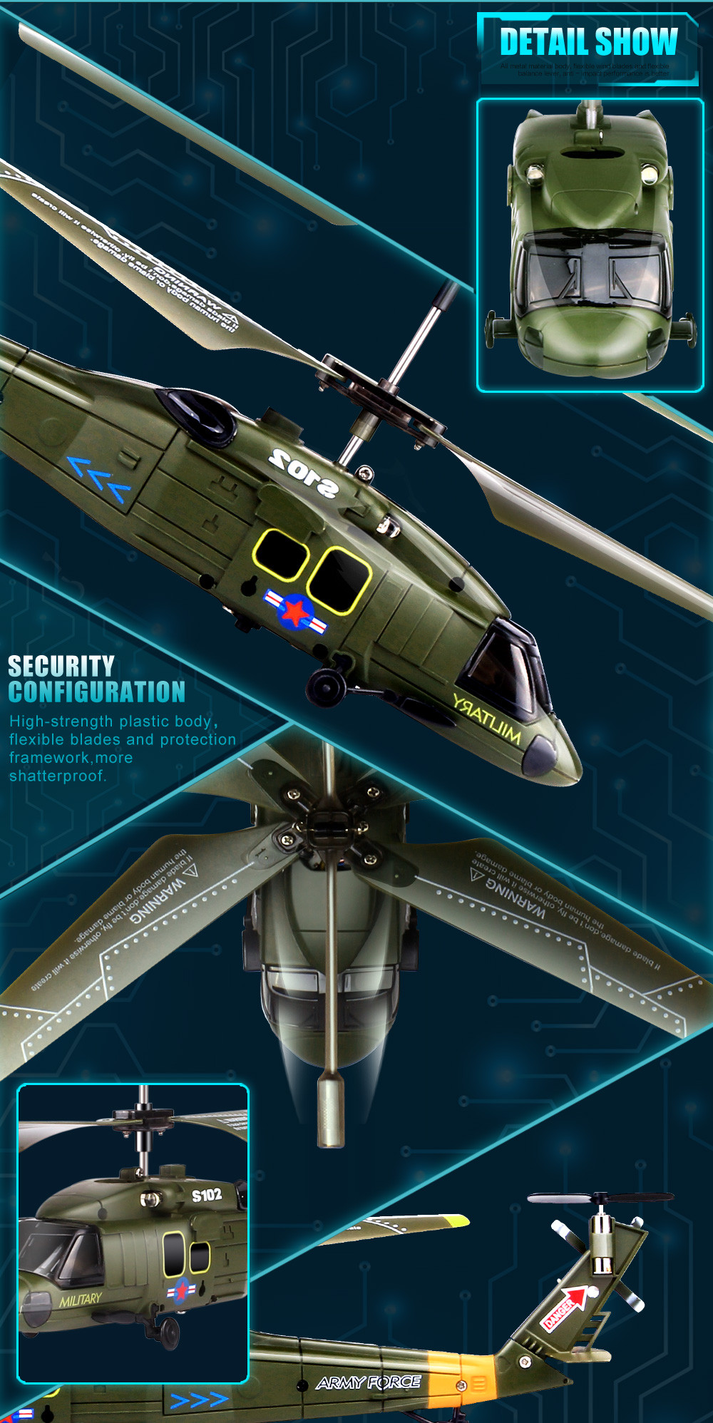 هليكوبتر S109G United بدون 13