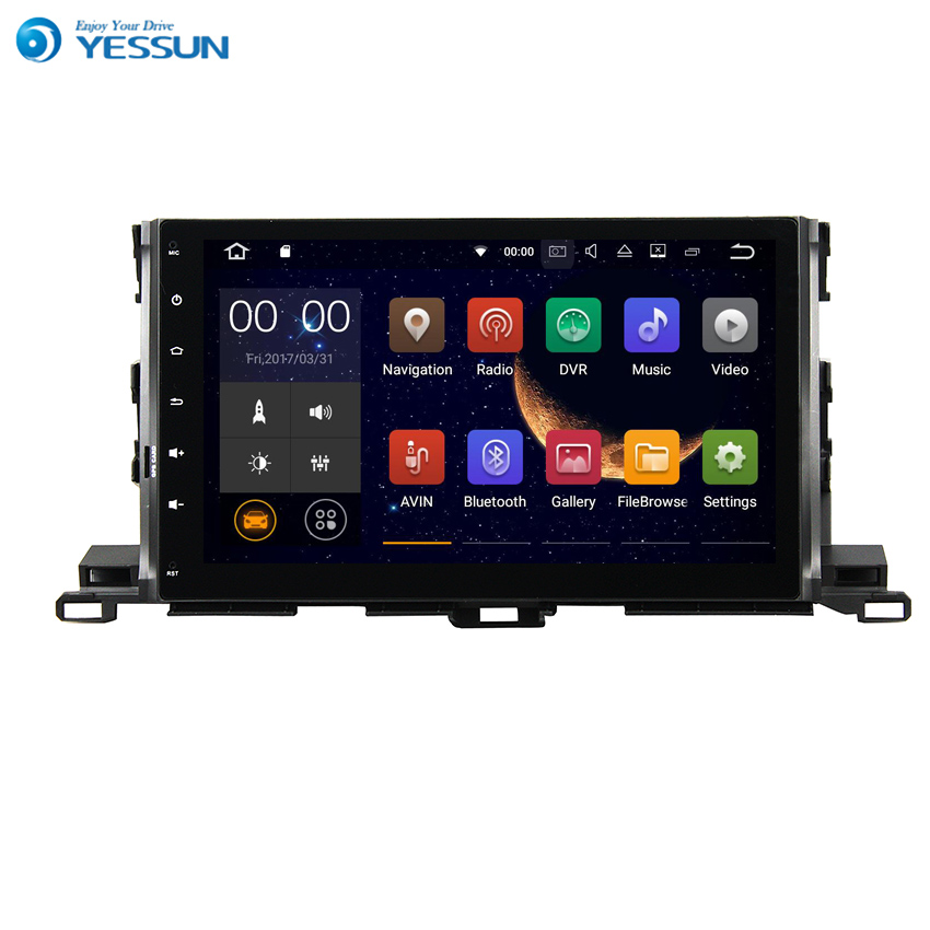 YESSUN Android Radio Car Player For TOYOTA HIGHLANDER 2014~2015 Stereo Radio Multimedia GPS Navigation With AM/FM