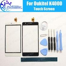 Oukitel K4000 dokunmatik ekran Digitizer için % 100% garanti orijinal sayısallaştırıcı cam Panel için dokunmatik değiştirme Oukitel K4000