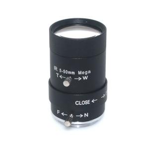"Image 2 - عدسة MP HD 5 50 مللي متر CS عدسة 1/3 ""IR CS عدسة فاريفوكال يدوية لكاميرات المراقبة CCTV"