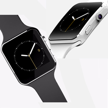 2016 New Smart Watch X6 Smartwatch Support SIM TF Card Bluetooth WAP GPRS SMS MP3 MP4 USB For iPhone And Android PK DZ09 GT08 U8