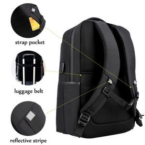 Image 2 - ARCTIC HUNTER 15.6 inç su geçirmez USB profesyonel Laptop erkek sırt çantası rahat dizüstü erkek spor seyahat çantası erkekler için