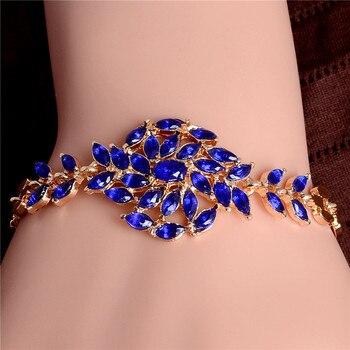 Women's Fashion Colorful Bracelets Bracelets Jewelry New Arrivals Women Jewelry Metal Color: H002