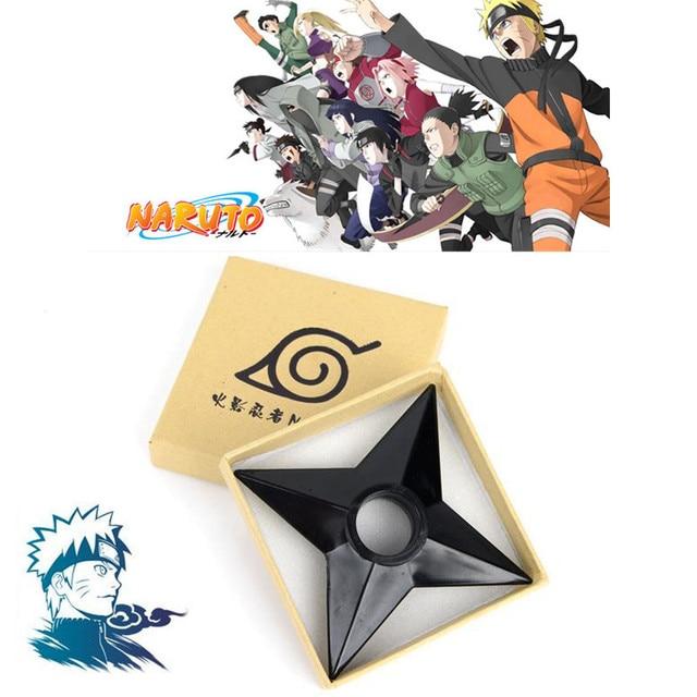 Anime NARUTO Ninja Cosplay Props Uzumaki Naruto Weapons Kids Adult Throwing Darts Plastic Shuriken Cosplay Accessories Toy New