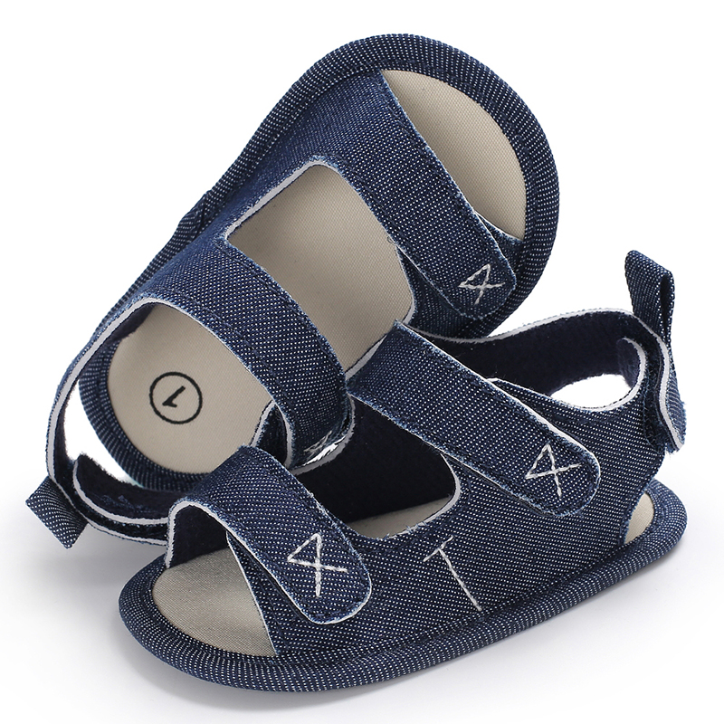 Baby Sandals for Newborn Infant Toddler Summer Shoes Anti-slip Boy Shoes Casual Soft Bottom Hook Loop Girl Shoes 0-18 Months