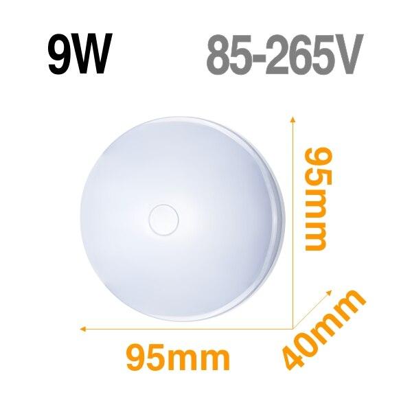 9W Semicircular