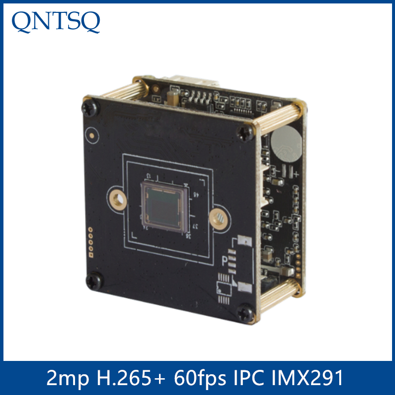 Sony IP Camera 2.0MP H.265/H.264 IP Camera,Sony <font><b>IMX291</b></font>+HI3516A CMOS IP Camera Module,Pitch 22mm IP PCB board ONVIF image