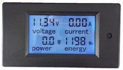 5pcs DC 6.5-100V 100A 4 IN1 digitale display LCD scherm spanning stroom energie voltmeter ampèremeter meter tester monitor