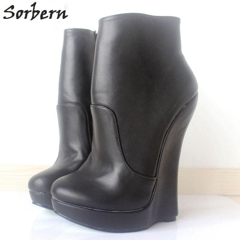 ac301db1538bf Detail Feedback Questions about Sorbern Fashion Punk Hi Heel Boots ...