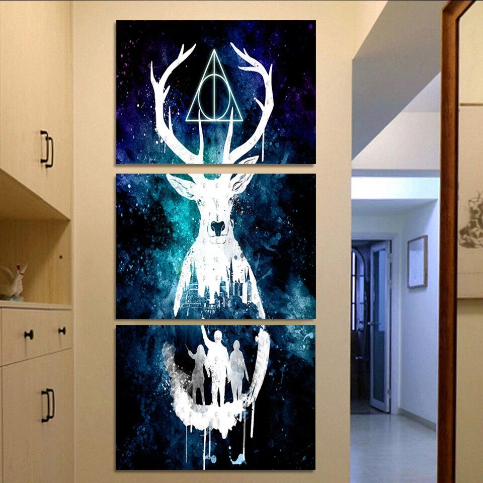 Harry Potter Poster Kunst Moderne Home Decor Leinwand Bild HD ...