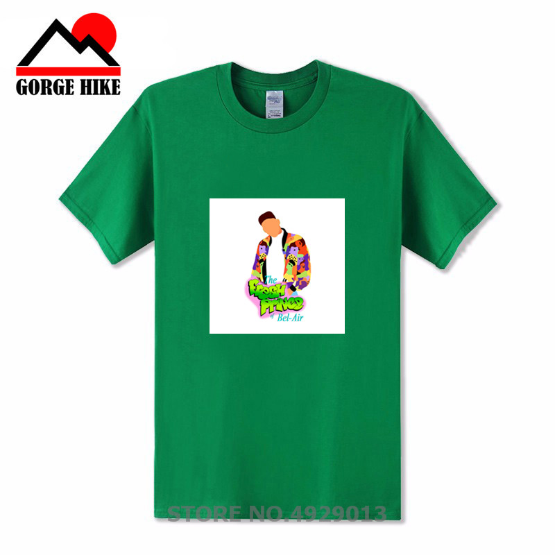 Hiphop Homme Hi streetwear cartoon The Bel-Air Bunch tshirt Fantasy The Fresh Prince of Bel Air TV shows T Shirt men casual tees image