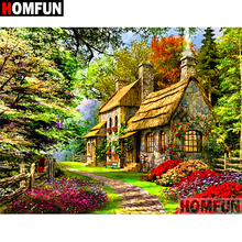 HOMFUN 5D DIY Diamond Painting Full Square/Round Drill House scenery 3D Embroidery Cross Stitch gift Home Decor A02178 homfun 5d diy diamond painting full square round drill house scenery embroidery cross stitch gift home decor gift a08417