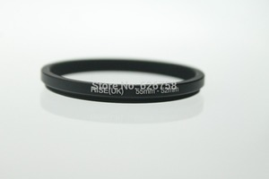 Image 2 - RISE (UK) 55 52MM 55 MM 52 MM 55 do 52 krok w dół pierścień adaptera filtra