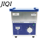 110V/220V MINI Ultrasonic Cleaner Bath 80W Glasses Jewelry Watches Sterilizer Ultrasound Wave Cleaning Machine Washer EU US plug