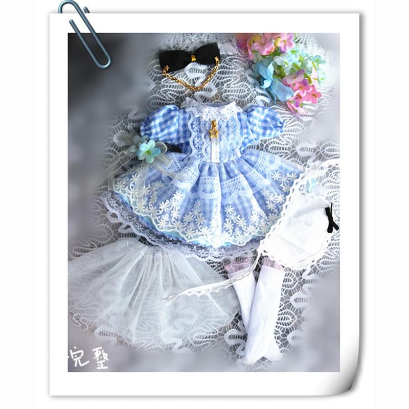 Cataleya 1/3 1/4 1/6 Dress Bjd Doll Clothes Yosd Msd Alice Giant Dolls Clothes