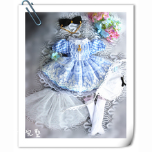 купить Cataleya 1/3 1/4 1/6 dress bjd doll clothes yosd msd Alice giant dolls clothes по цене 1939.61 рублей