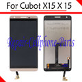 Gold 100% New Full LCD DIsplay + Touch Screen Digitizer Assembly Replacement For Cubot X15 X 15 Dual SIM LTE Free Shipping