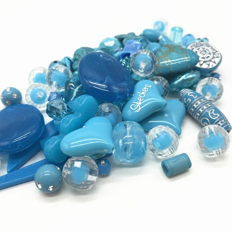 Новинка 20 г акриловые бусины смешанные бусины стиль для DIY ювелирные изделия браслеты ручной работы изготовление аксессуаров - Цвет: 10