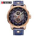 CURREN 2017 Style Fashion Watches  Man Luxury Brand leather Quartz Watches  Men's Watch Retro  Relogio Masculion For Gift 8206