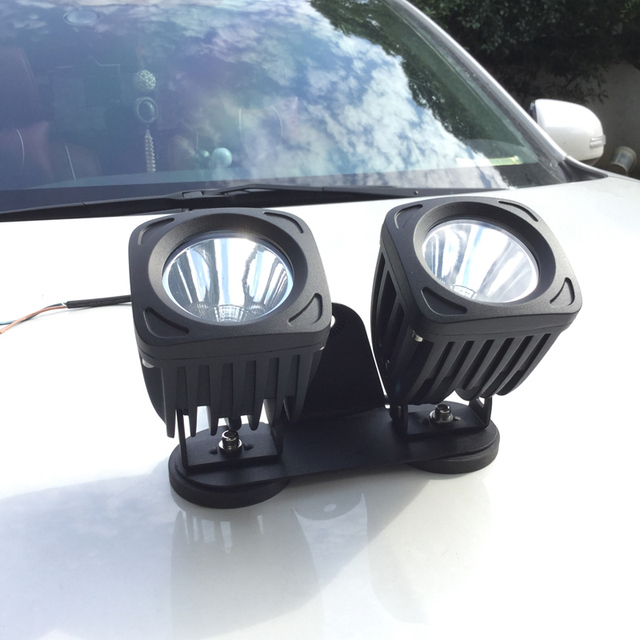 50 w led offroad camion de phare de voiture support magn tique support 4x4 atv utv led conduite. Black Bedroom Furniture Sets. Home Design Ideas