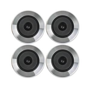 AIYIMA 4 шт. мини усилители алюминиевый динамик ножные подушечки сделай сам для декодера аудио колонки компьютер шасси Вибрация Демпфирование Feets