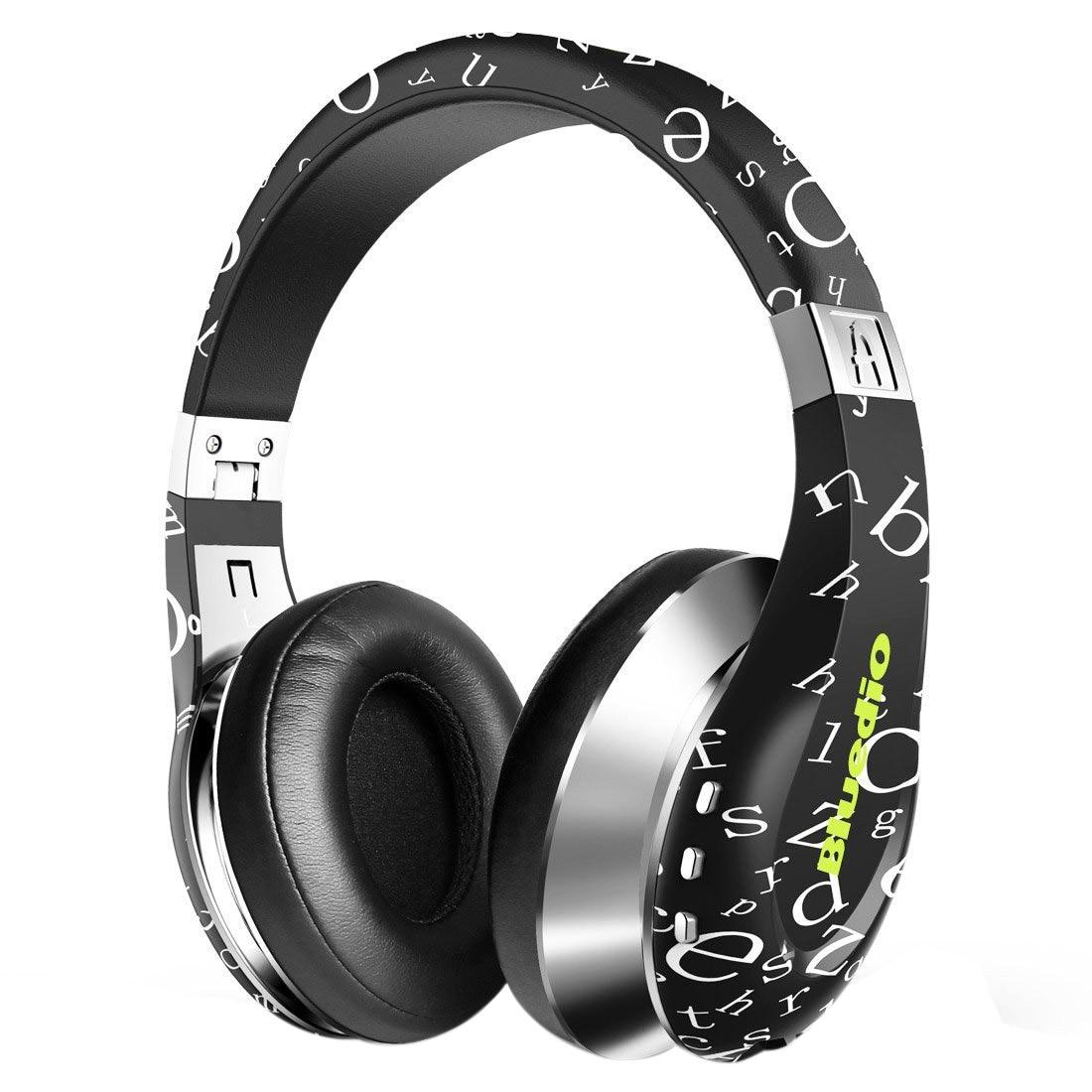 Bluedio A (Air) élégant casque sans fil Bluetooth avec micro (noir)