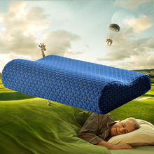 HAKOONA New  Anti-Mite Slow Rebound Health Care Memory Pillow Wave Pillow Cervical Health Space Massage Memory Pillow