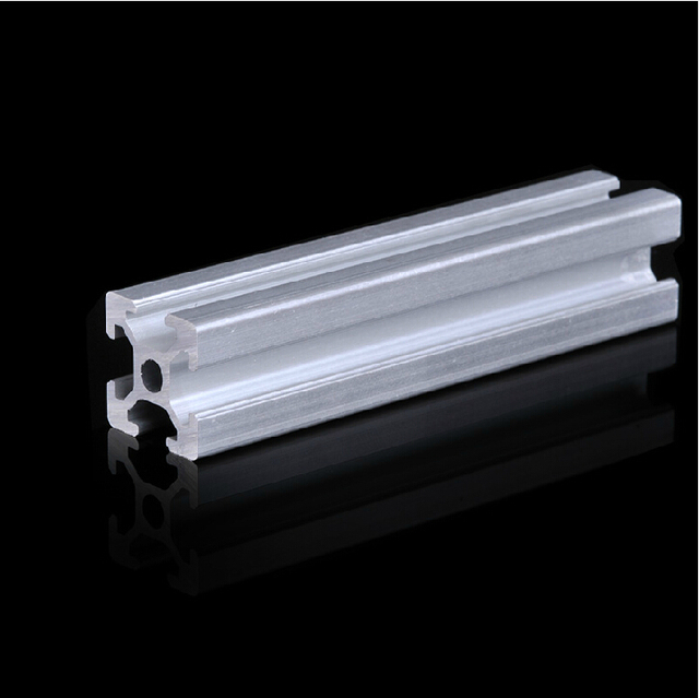 Aluminum Profile 2020 Extrusion Pipe grade 6063 L=500mm Free shipping All Sizes in Stock