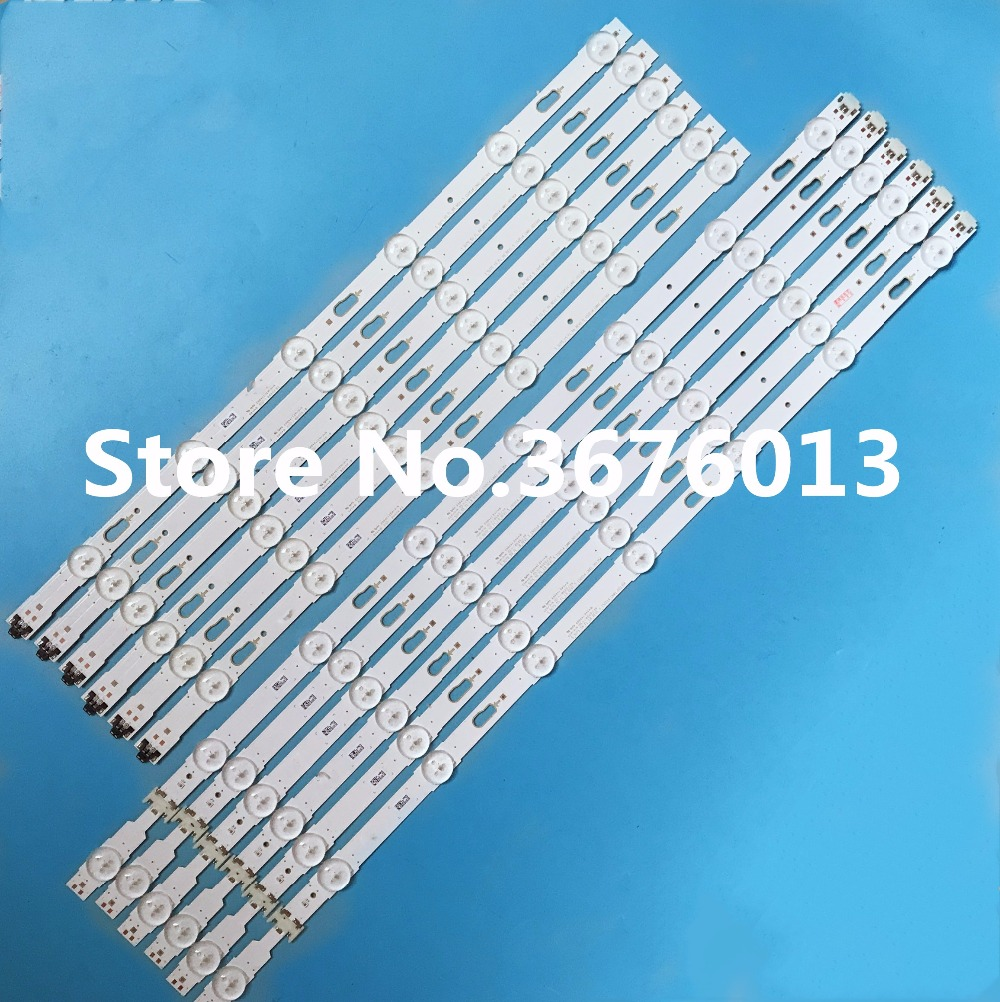 LED Backlight strip 14LED For S amsung 55 TV LM41 00136A 34798A 34797A LM41 00135A UE55JU7500