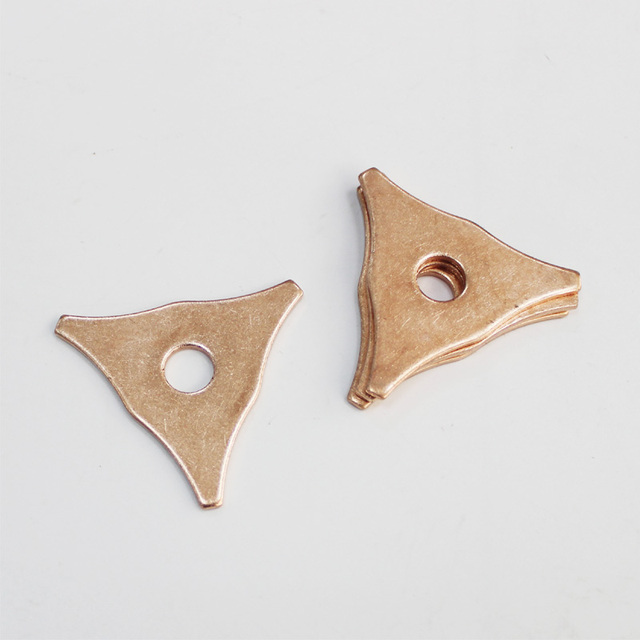 tri-hook washers 2mm spot welding dent pulling triangle pads dent puller kit stud welder spare parts consumables accessories