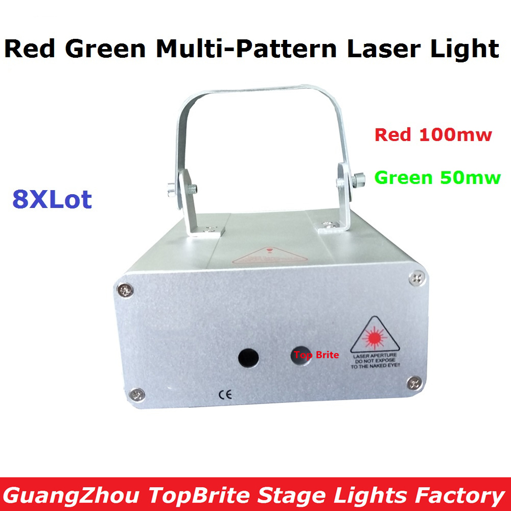 8Pcs/Lot Factory Price Mini Size Stage Laser Lights Good Quality 150mw RG Full Color Animation Laser Light For Free Shipping triple quality tests t1590 t1599 color ink cartridge for epson factory price free shipping