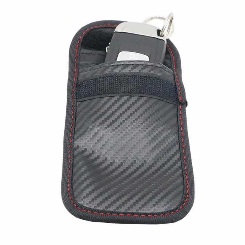 1PC מרחוק מפתח אות חוסם מקרה כיסוי תיק אות חסימת מיגון פאוץ אוטומטי פנים רכב מפתח מקרה