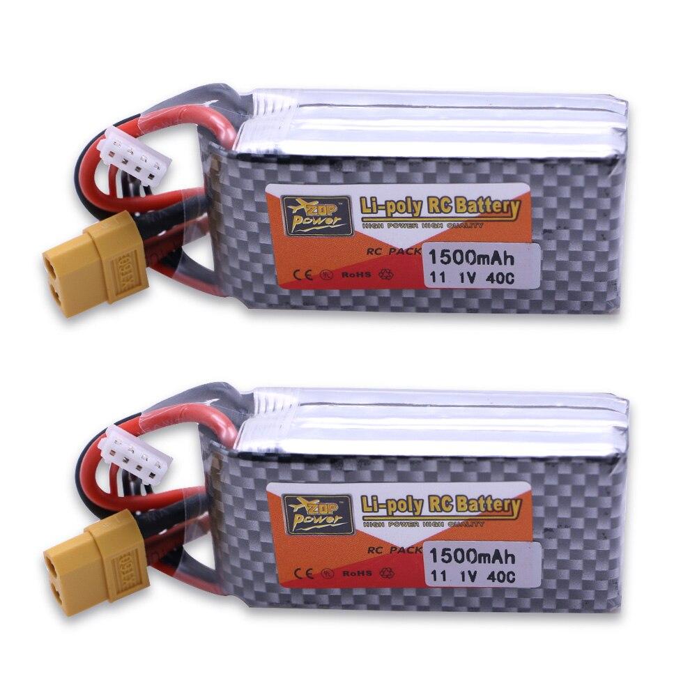 Wholesale Original ZOP Power LiPo Battery 11 1 V 1500 Mah 3S 40C MAX 60C T