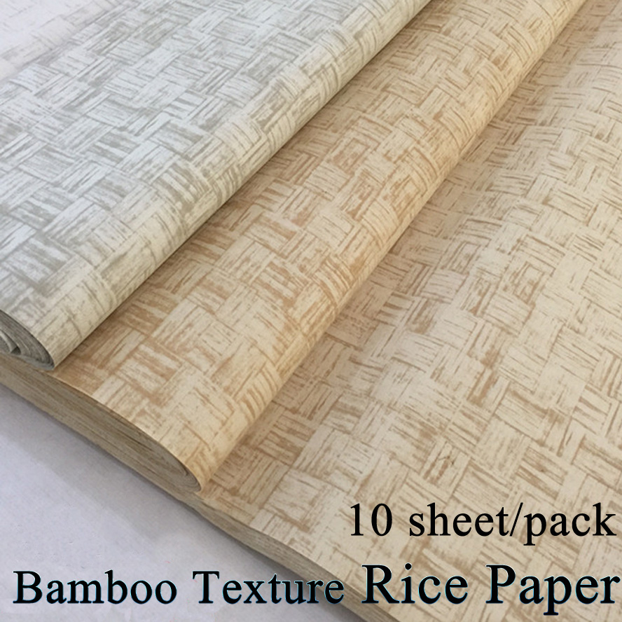 10 sheet/pack Chinese Bamboo Painting Rice Paper Calligraphy Drawing Xuan Paper Artist treasures Painting supply10 sheet/pack Chinese Bamboo Painting Rice Paper Calligraphy Drawing Xuan Paper Artist treasures Painting supply