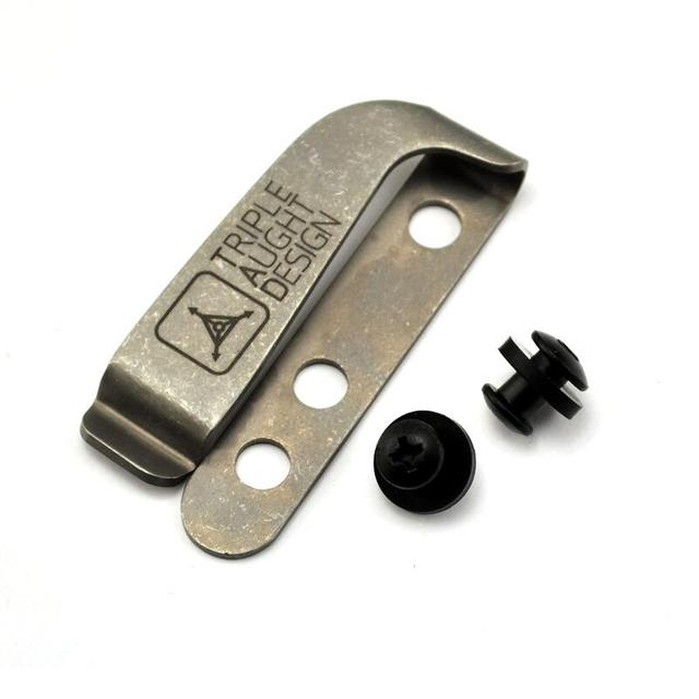 c8322f9ed595 Sy tools DIY TC4 Titanium alloy material Knife K sheath scabbard K sheath  case -2 screw