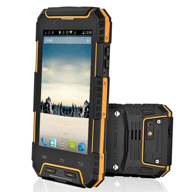 IP68 Водонепроницаемый телефон RugGear RG702 RugGear APEX защита от пыли GPS Dual SIM Android водонепроницаемый смарт разблокирована сотовый телефон желтый