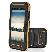 IP68 Wasserdicht Telefon RugGear RG702 RugGear Apex staubdicht GPS Dual SIM Android wasserdichte intelligente handy Entsperrt Gelb